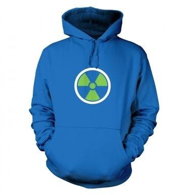 Green Radiation Symbol hoodie
