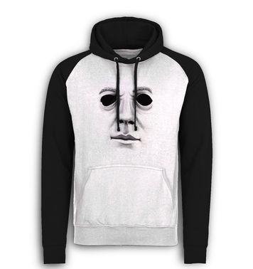 Halloween Mask baseball hoodie