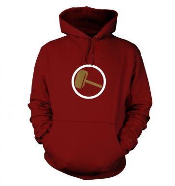 Hammer Slogan hoodie