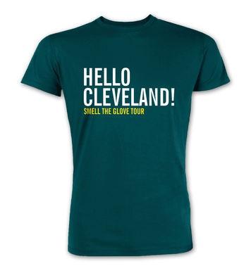 Hello Cleveland premium t-shirt