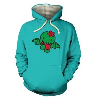 Hello Cthulhu hoodie (premium)