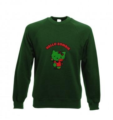 Hello Zombie sweatshirt