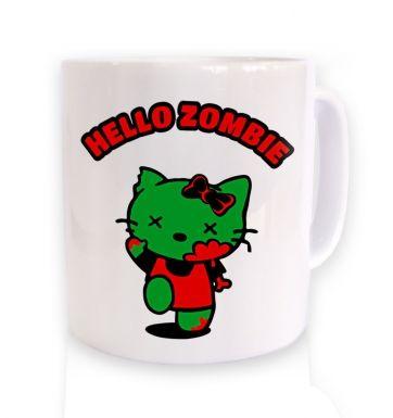Hello Zombie mug