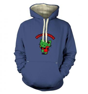 Hello Zombie  hoodie (premium)
