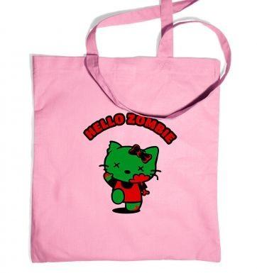 Hello Zombie tote bag