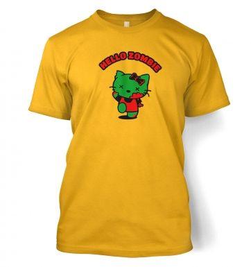 Hello Zombie t-shirt