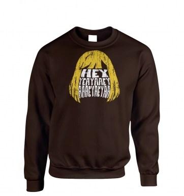 HEYYEYAAEYAAAEYAEYAA sweatshirt