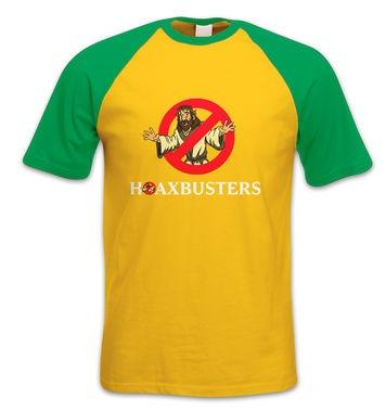 Hoaxbusters short-sleeved baseball t-shirt