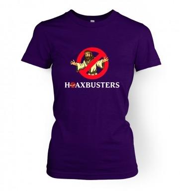 Hoaxbusters women's t-shirt