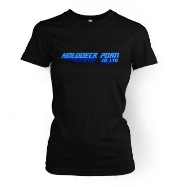 Holodeck Porn Company women's t-shirt