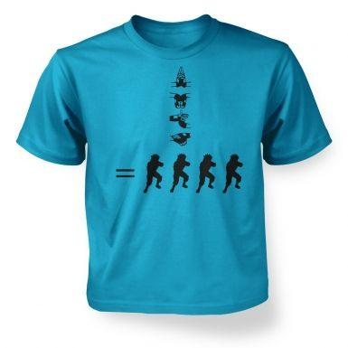 How To Kage Bunshin No Jutsu!  kids t-shirt