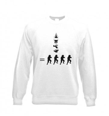 How To Kage Bunshin No Jutsu! sweatshirt