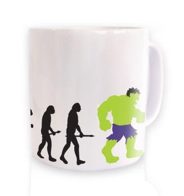 Hulk Evolution mug