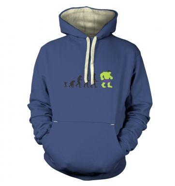 Hulk Evolution hoodie (premium)