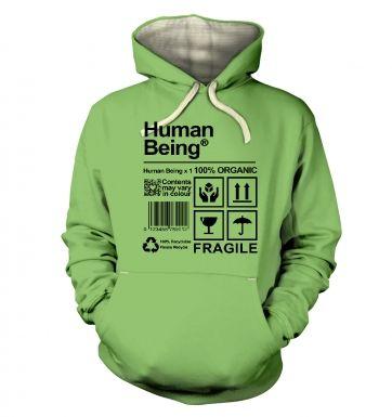 Human Being hoodie (premium)