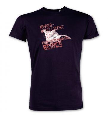 HyperIntelligent PanDimensional Beings  premium t-shirt