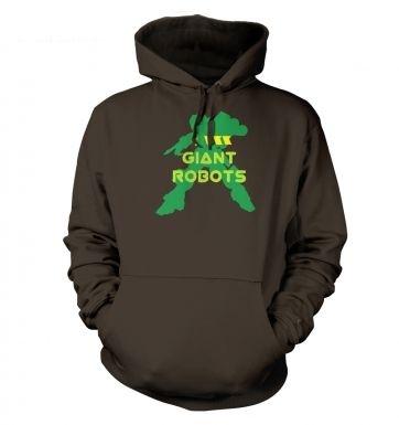 I <3 Giant Robots hoodie