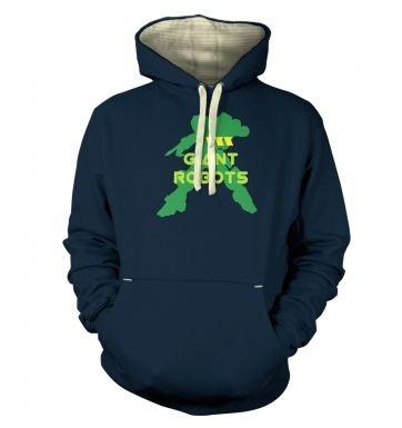 I <3 Giant Robots hoodie (premium)