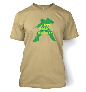 I <3 Giant Robots t-shirt