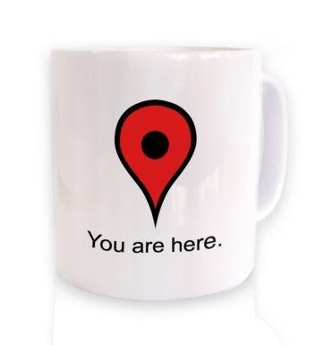 I Am Here mug