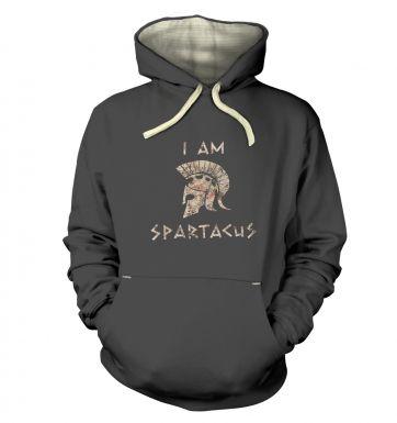 I Am Spartacus  hoodie (premium)