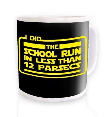 I Did The School Run In 12 parsecs  mug