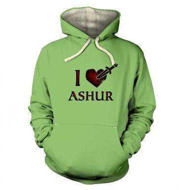 I Heart Ashur hoodie (premium)
