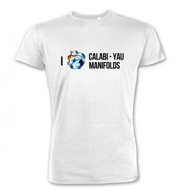 I (Heart) Calabi-Yau Manifolds  premium t-shirt