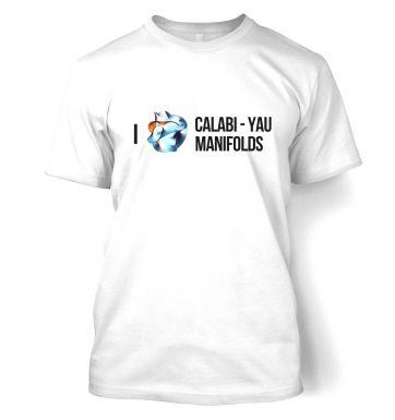 I (Heart) Calabi-Yau Manifolds  t-shirt