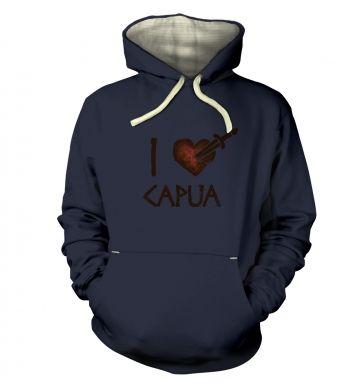 i heart capua   hoodie (premium)