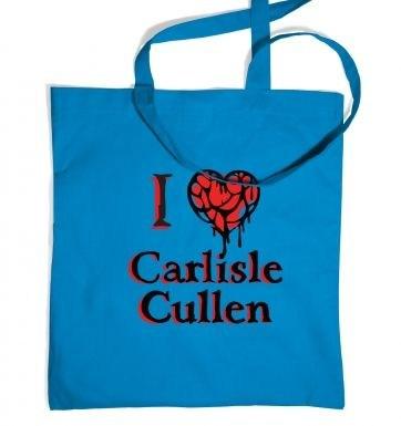I heart Carlisle Cullen tote bag