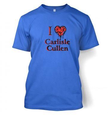 I Heart Carlisle Cullen t-shirt