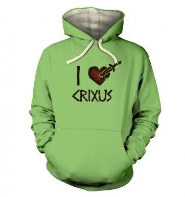 I heart Crixus s  hoodie (premium)