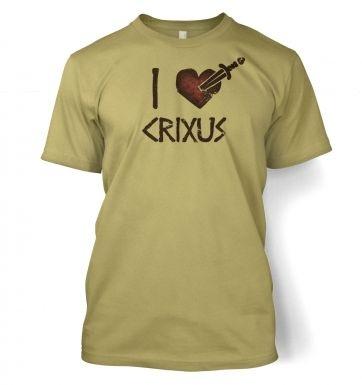 I heart Crixus  t-shirt