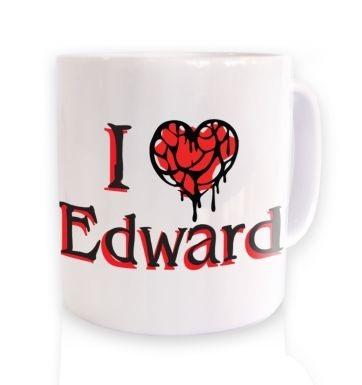 I Heart Edward  mug