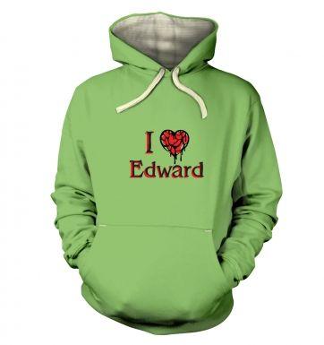 I Heart Edward  hoodie (premium)