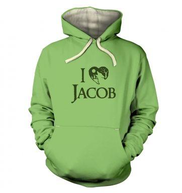 I Heart Jacob  hoodie (premium)