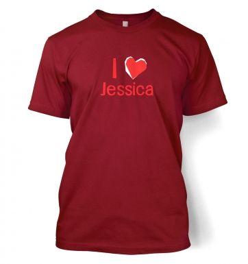 I Heart Jessica  t-shirt