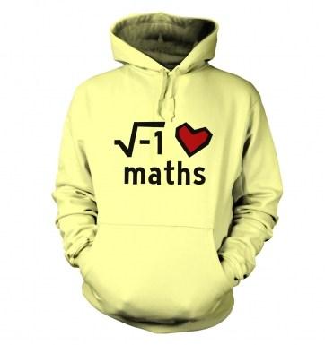 i Heart Maths hoodie