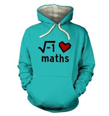 i Heart Maths hoodie (premium)