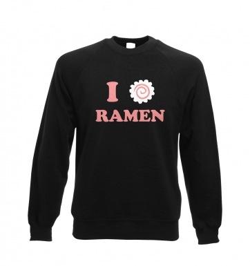 I Heart Ramen sweatshirt