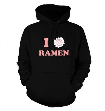 I Heart Ramen  hoodie
