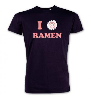I Heart Ramen  premium t-shirt