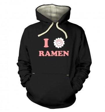 I Heart Ramen hoodie (premium)