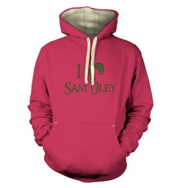 I Heart Sam Uley hoodie (premium)