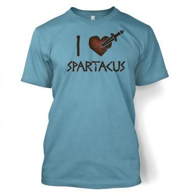 I heart Spartacus  t-shirt