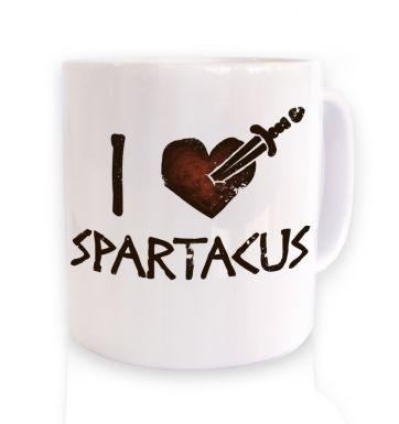 I heart Spartacus mug