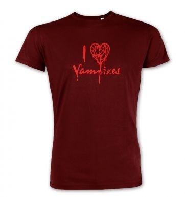 I Heart Vampires  premium t-shirt