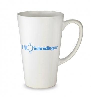 I Like Dislike Schrodinger tall latte mug