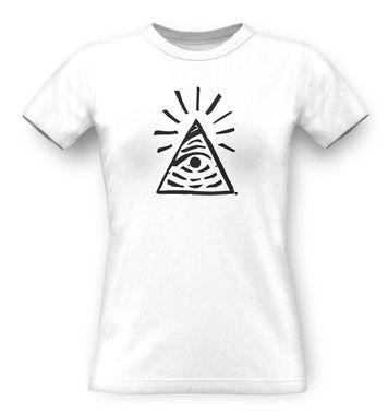 Illuminati Sign Life Is Strange classic women's t-shirt